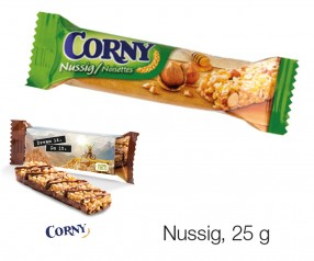 Corny Müsliriegel Nuss 25g Werbemittel incl. 4c-Digitaldruck