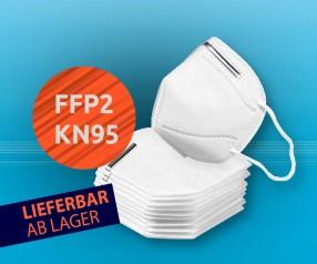 FFP2 KN95 Mund-Nasen-Maske Gesichtsmaske Mundbedeckung 3er Set