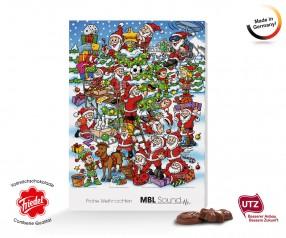 Classic Wand Adventskalender Confiserie Friedel Weihnachtswirbel ***AUSVERKAUFT***