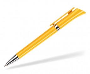 DreamPen GALAXY GXCH80 Werbekugelschreiber mit Metallspitze gelb