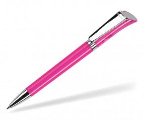 DreamPen GALAXY Transparent Metallclip GXMTCH1031 Werbekugelschreiber pink