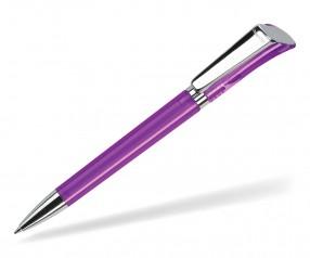 DreamPen GALAXY Transparent Metallclip GXMTCH1035 Werbekugelschreiber violett