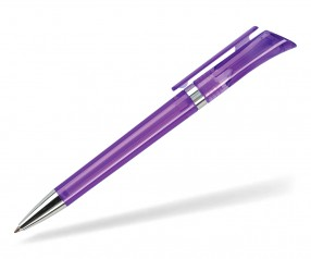 DreamPen GALAXY Transparent GXTCH1035 Werbekugelschreiber violett