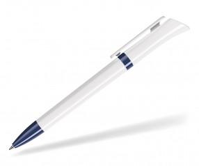 DreamPen GALAXY CLASSIC GX9922 Werbekugelschreiber weiss dunkelblau