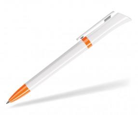 DreamPen GALAXY CLASSIC GX9960 Werbekugelschreiber weiss orange