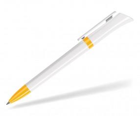 DreamPen GALAXY CLASSIC GX9960 Werbekugelschreiber weiss gelb