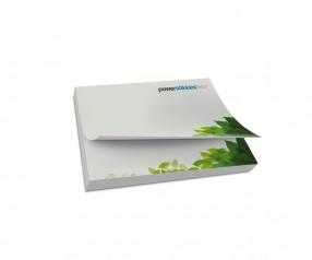 KARL KNAUER Recycling Haftnotizen 100x70 mm inklusive Druck als Werbegeschenk