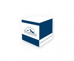 KARL KNAUER 68x68x68 mm Haftquader individuell gestalten für Werbezwecke