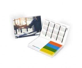 KARL KNAUER Haftset 01 mit individualisierbaren Papiermarkern als Werbegeschenk