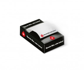 KARL KNAUER Haftspender 01 Zettelbox inklusive Druck als Werbeartikel