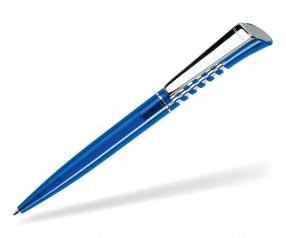 DreamPen INFINITY Metallclip Transparent IMT1020 Werbekugelschreiber blau