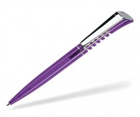 DreamPen INFINITY Metallclip Transparent IMT1035 Werbekugelschreiber violett