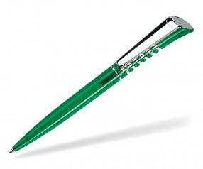 DreamPen INFINITY Metallclip Transparent IMT1040 Werbekugelschreiber grün