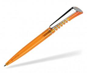 DreamPen INFINITY Metallclip Transparent IMT1040 Werbekugelschreiber orange
