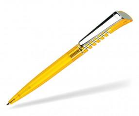 DreamPen INFINITY Metallclip Transparent IMT1080 Werbekugelschreiber gelb