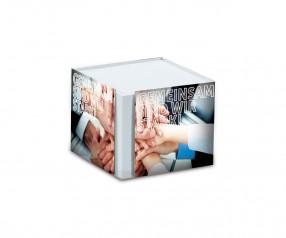 KARL KNAUER Kartonbox 07 Zettelbox individuell bedrucken als Werbeartikel