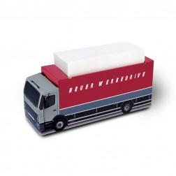 KARL KNAUER Kartonbox 16 LKW Zettelbox individuell bedrucken als Werbeartikel