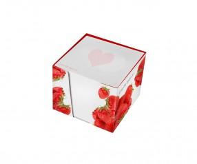KARL KNAUER Kartonbox 01 Zettelbox individuell bedrucken als Werbegeschenk