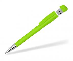 Klio Turnus USB Kugelschreiber SOFTTOUCH TZ hellgrün