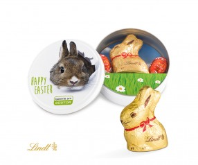 Lindt Oster Dose Osterhase Ostereier incl. Druck als Giveaway