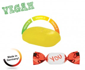 Bonbons Streuartikel vegan metallisierter Wickler Multivitamin 1-Kilo-Tüte