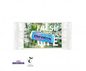 Mentos Mini Mint im Werbeträger als Werbepräsent