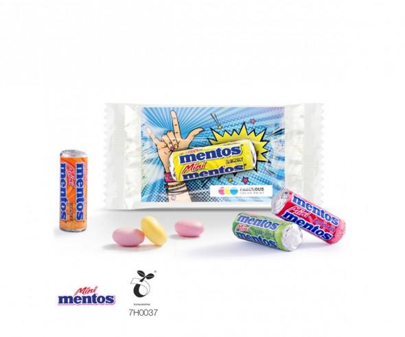 Mentos Mini Fruit Mix im Werbeträger Giveaway