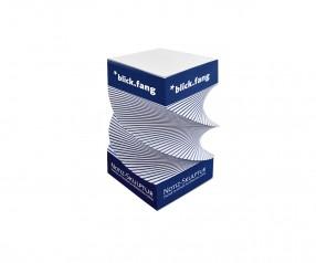 KARL KNAUER Skulpturquader Form 5 Design Notizblock als Werbegeschenk