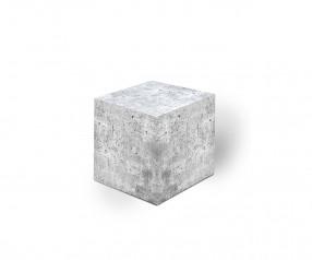 KARL KNAUER 68x68x68 mm Notizquader Design Edition Beton mit Druck als Promotionartikel