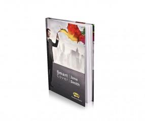 Post-it SmartCover DIN A5 Notizbuch mit Haftnotizen inkl. Druck