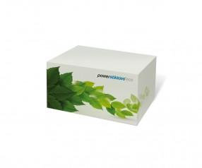 KARL KNAUER Recycling 100x74x59 mm Haftquader als Werbeartikel