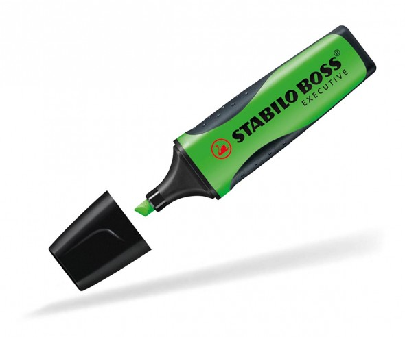 STABILO BOSS EXECUTIVE Textmarker grün