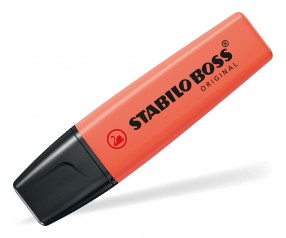 STABILO Textmarker BOSS ORIGINAL pastell coral red 140