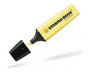 STABILO Textmarker BOSS ORIGINAL pastell gelb