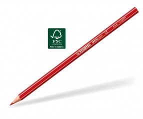 STABILO GREENcolors Buntstift Holz-Farbstift 6-kant karminrot
