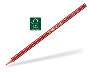 STABILO GREENcolors Buntstift Holz-Farbstift 6-kant cherry rot