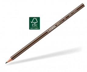 STABILO GREENcolors Buntstift Holz-Farbstift 6-kant dunkelbraun
