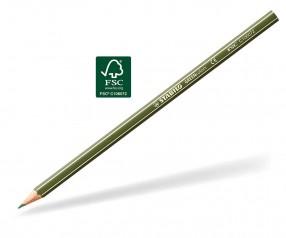 STABILO GREENcolors Buntstift Holz-Farbstift 6-kant olivgrün