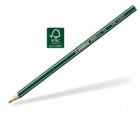 STABILO GREENcolors Buntstift Holz-Farbstift 6-kant opaque-dunkelgrün