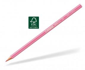 STABILO GREENcolors Buntstift Holz-Farbstift 6-kant rosepink
