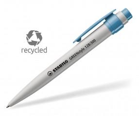 STABILO GREENstyle Recycling Kugelschreiber blau
