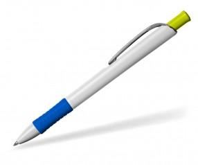 STABILO Werbekugelschreiber Concept Image KS weiss blau gelb