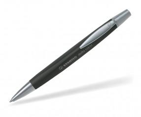 STABILO Delta Dreikant-Drehkugelschreiber schwarz