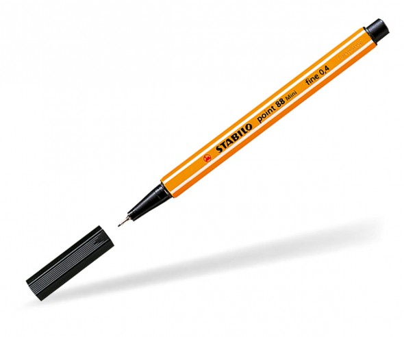 STABILO Fineliner point 88 MINI schwarz