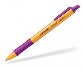 STABILO Kugelschreiber Pointball purple violett schreibend