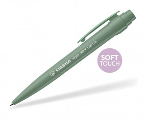 STABILO Style color SOFTTOUCH Kunsstoffclip LEAFGREEN