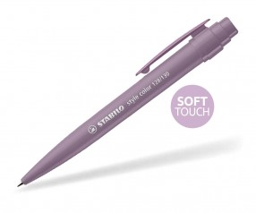 STABILO Style color SOFTTOUCH Kunsstoffclip MAUVE