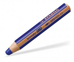 STABILO Woody 3in1-Buntstift multifunktional ultramarinblau