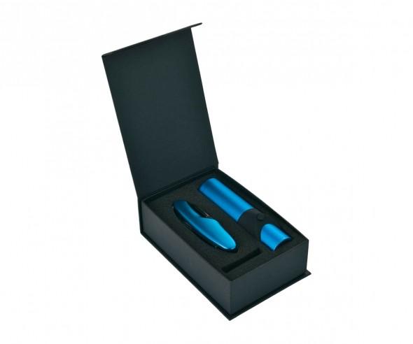 Schwarzwolf ALBERO blau Set aus Messer und Taschenlampe F2100102AJ3