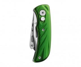 Schwarzwolf CORTAR grün Messer mit Doppelschneide F2400201SA3